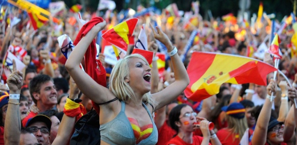 Spain is known for having a lot of festivals which is why they are called the country of fiestas.