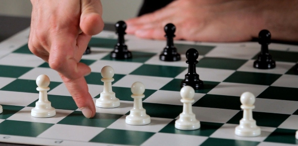 If someone is a good chess player, many people think that they can do anything. However, there are