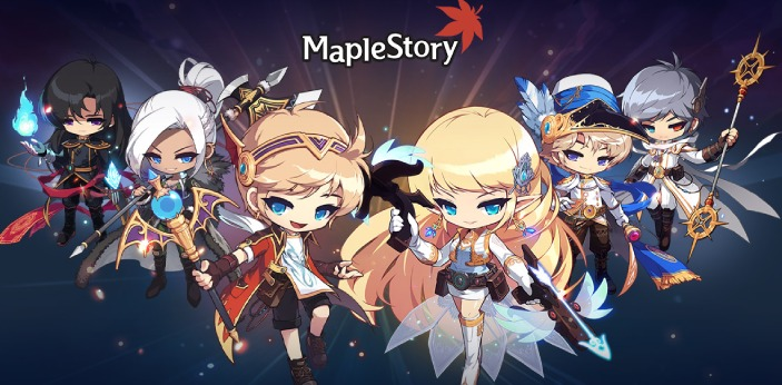 MapleStory is an online, multiplayer game. It is Korean based and free for all to play. The game