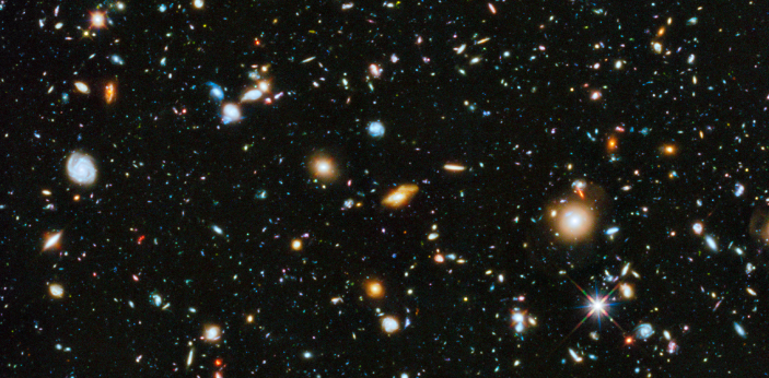 There are tens of thousands of galaxies and our galaxy, The Milky Way, is just one of them.