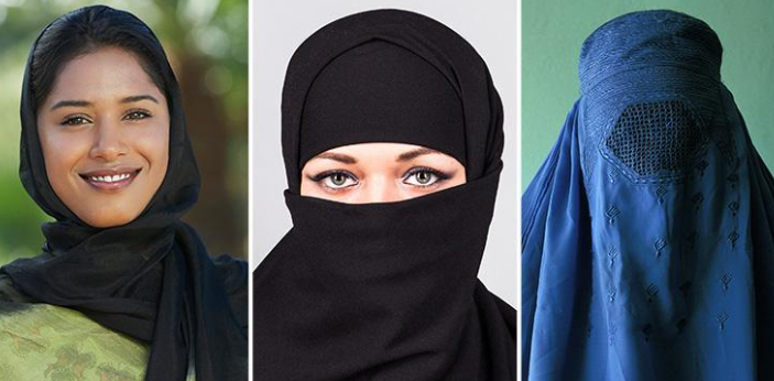 Hijab and Burqa are two types of dresses in Islamic culture. Both hijab and burqa are meant for