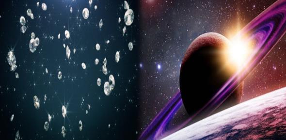 Why is it said that Jupiter might have diamond precipitation?