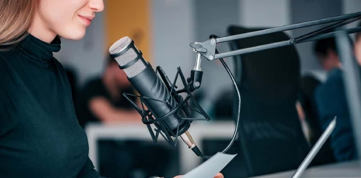 Podcasting was developed as an audio medium in the 1980s. The inception of broadband internet and