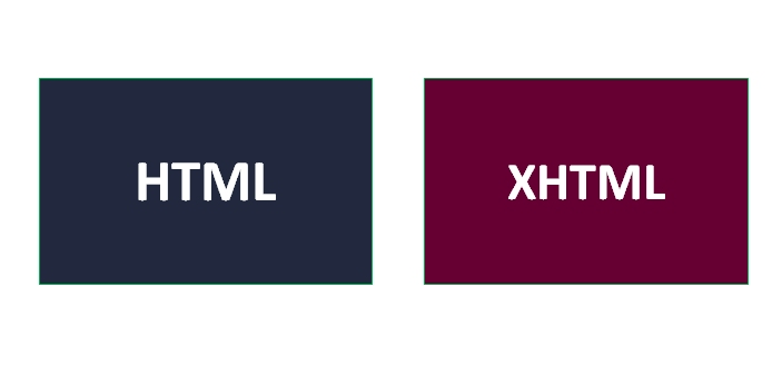The meanings of these two are different. XHTML stands for Extensible Hypertext Markup Language