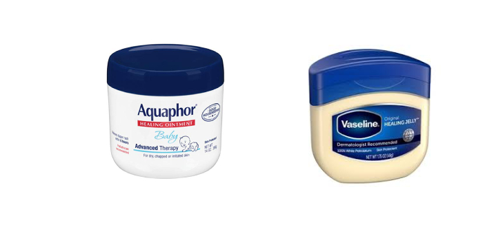 There are some little differences between Vaseline and aquaphor. They are examples of comestic