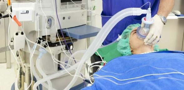 General anesthesia is considered to be very safe. The one that is considered to be risky is the