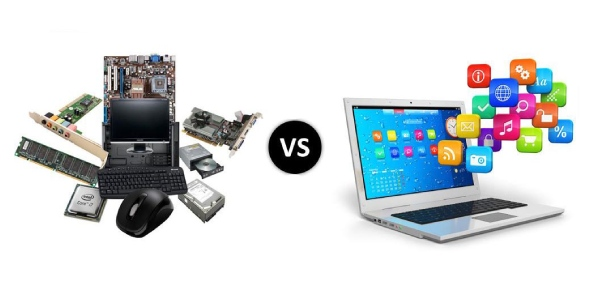 Which is costlier hardware or software?