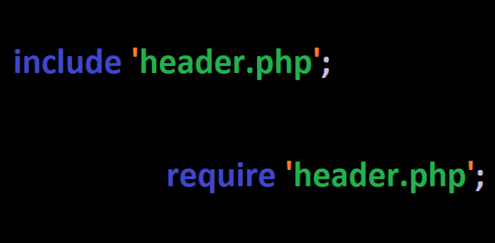 Require and Include are two different terms commonly used in PHP programming. Both terms are a bit
