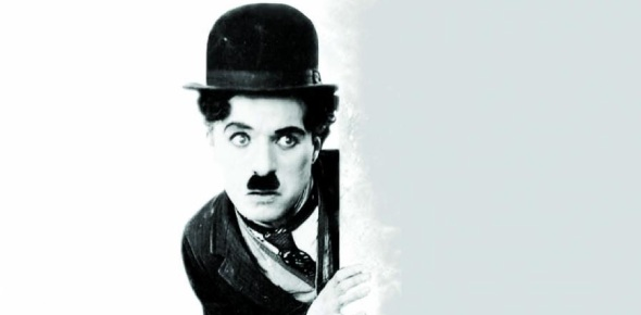 How did Charlie Chaplin become famous?
