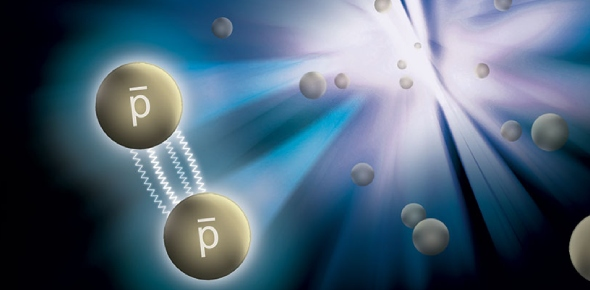 The antiproton is the antiparticle of the proton. Though stable, antiprotons are typically