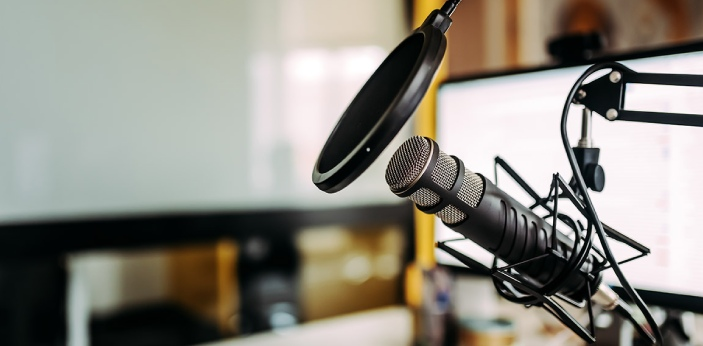 Streaming is the act of listening to a podcast through a website, and you may also download it from
