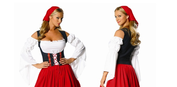 In Switzerland, women wear basically what women wear in the United States and other developed,