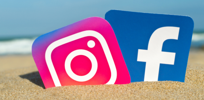 Facebook and Instagram are both different platforms to use. Those are very popular social