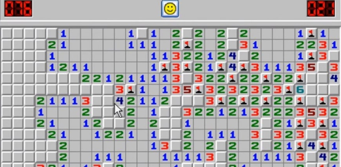 Minesweeper is a game that is built into almost all Windows devices. It is a simple game to learn,