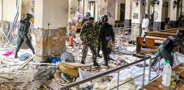 The victims of the horrific Sri Lanka attacks were those who were at the churches that were