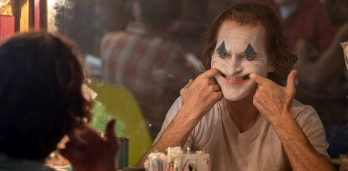 I have not seen the Joaquin Phoenix as the Joker yet, but based on the previews; I would say Jared
