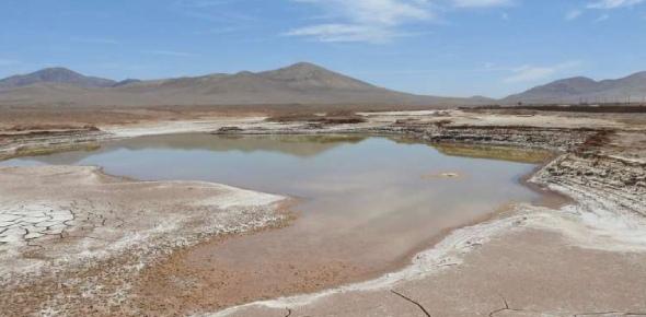 The desert called The Atacama Desert is called Desierto de Atacama in the Spanish language. This is