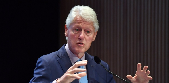 I like Bill Clinton. I think he has done a lot of good for the country and especially after his