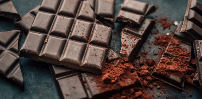 Dark chocolate is made by adding sugar, fat to the mixture, which contains cacao. Dark chocolate is