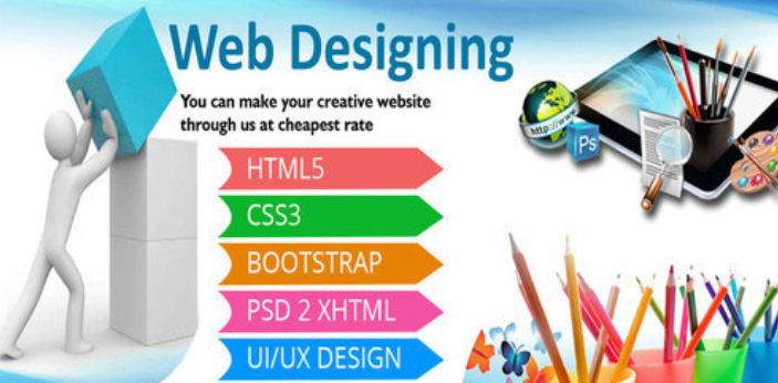 Web design is normally done by web designers to make sure that the website's design will fit
