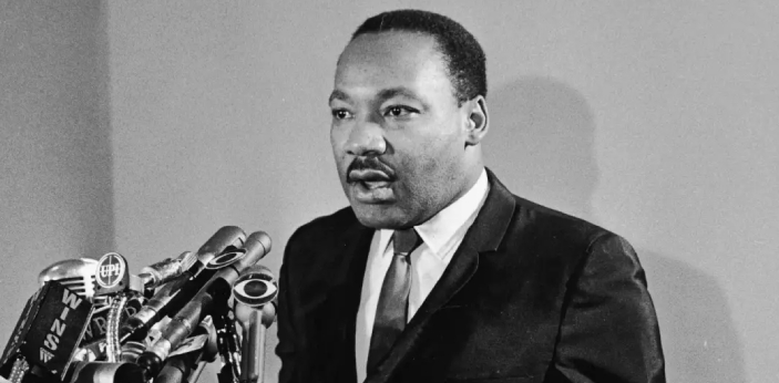 There are a lot of people who were saddened by the death of Martin Luther King although his
