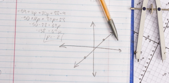 Which of the following systems of linear equations can be used to determine the measure of each angle?