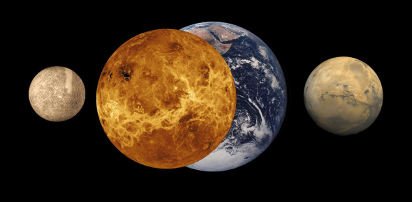 Is it true that the moon titan is bigger than our moon and mercury?