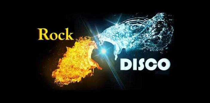 Rock and disco are two types of music genres that people may like. Rock is usually preferred by