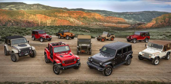 The Jeep Wranglers might be the most famous model by Jeep. Many individuals like vehicles that can