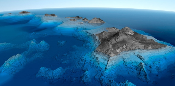 Which is the highest underwater mountain?