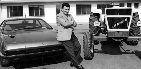 Who is the owner of lamborghini company?