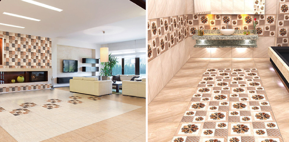 Do you think that ceramic tiles and vitrified tiles are the same? Do not worry because you are not