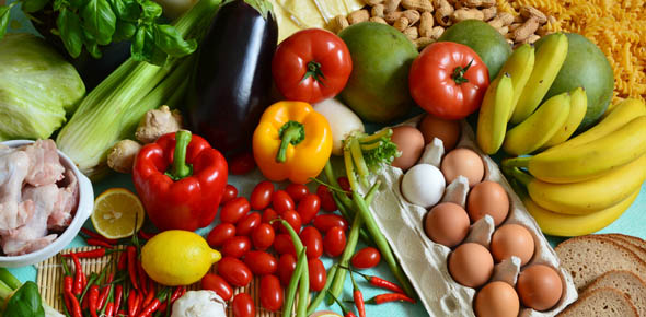 What are the most important food groups for losing weight?