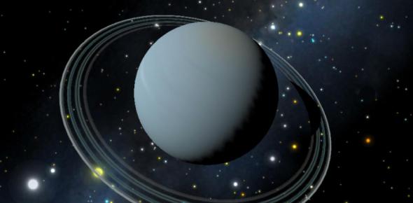 Why are Uranus's poles tilted sideways?