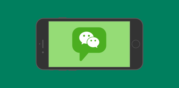 WeChat is an app that has become very popular over time. It was first used and created in China.