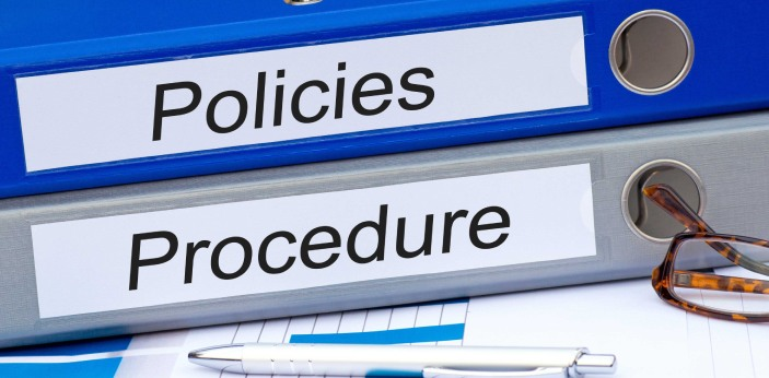 Policies and procedures are mainly used in business environments, but can also be useful in schools