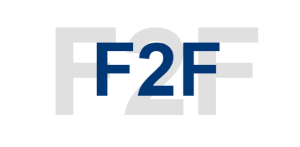 F2F is the acronym for Face to Face. I'm very sure you know what it means when people say we