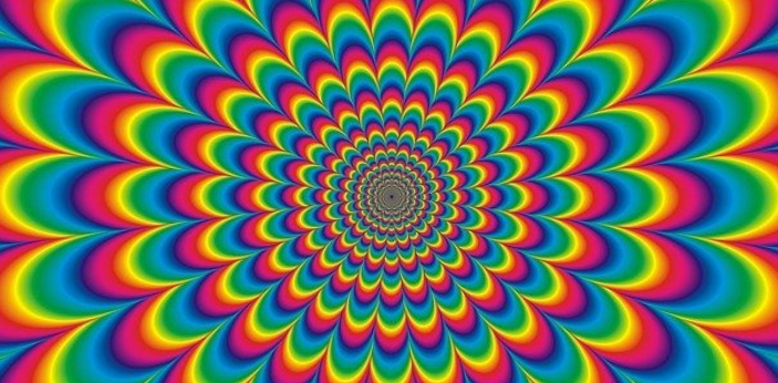 By definition, psychedelic means relating or connecting by way of drugs or some other form of
