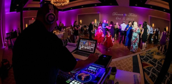 The DJ is the person who is responsible for producing music during your event. This means that the