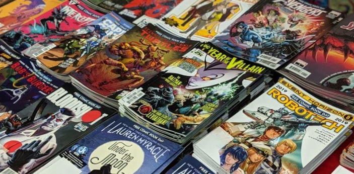 National Comic Book Day happens every September 25. This day is about honoring the different