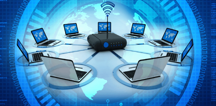 Communication between a user and a computer can only be carried out with the aid of input and