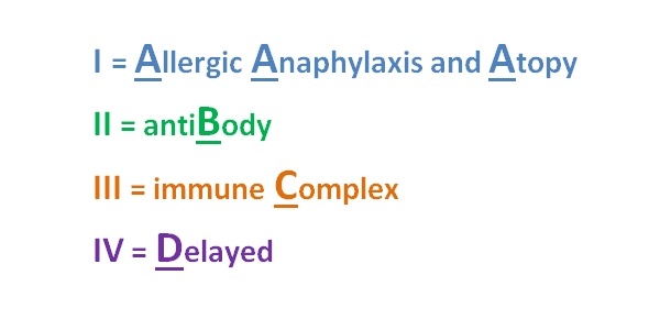 What is the principle difference between type II and type III hypersensitivity?