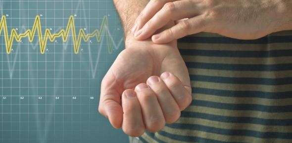 How is heart rate related to blood pressure?