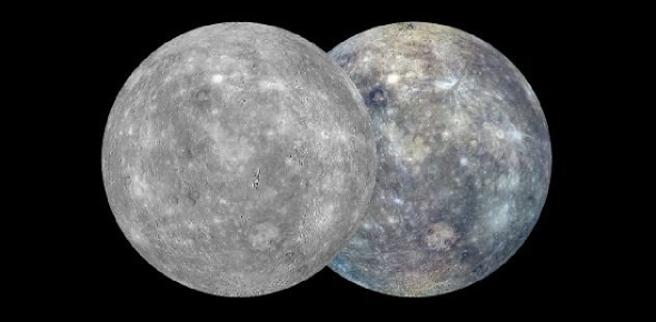 What is mercury's crust made of?