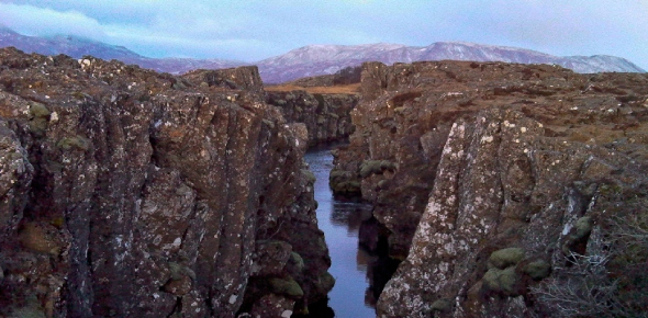 What is the Mid-Atlantic Ridge?
