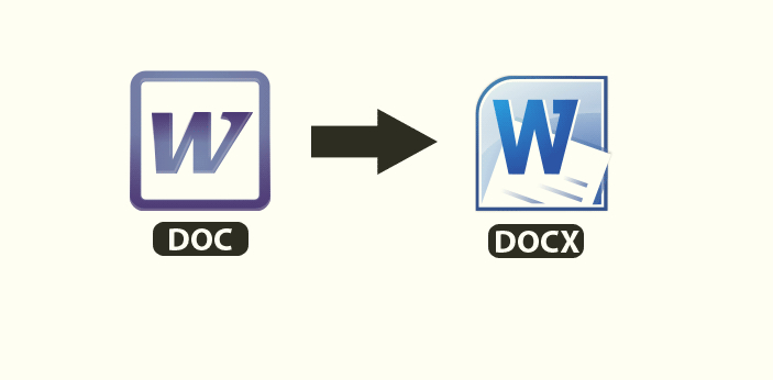 Doc and Docx are two basic file format or extension supported by Microsoft word. One of the