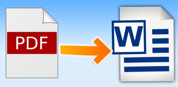 There are many ways to convert PDF to word. Here are two easy methods.  Method 1: Use Microsoft