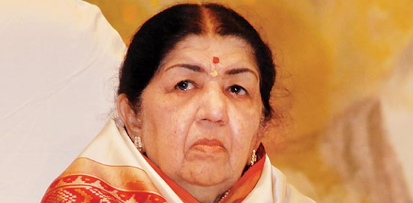 What is the movie by Lata Mangeshkar made her debut in Hindi playback singing?
