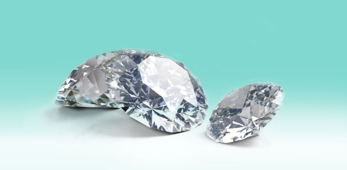 Diamonds have different type of clarify grade. The clarity grade that a diamond has is based on the