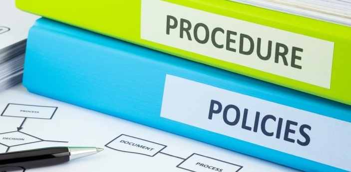 Policies and procedures are two words which both pertain to any organization. Policies guide top